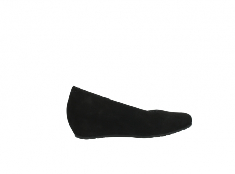 wolky court shoes 01910 capella 40000 black suede_12