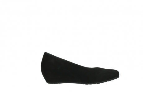 wolky court shoes 01910 capella 40000 black suede_13