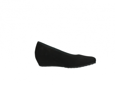 wolky court shoes 01910 capella 40000 black suede_14