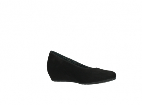 wolky court shoes 01910 capella 40000 black suede_15