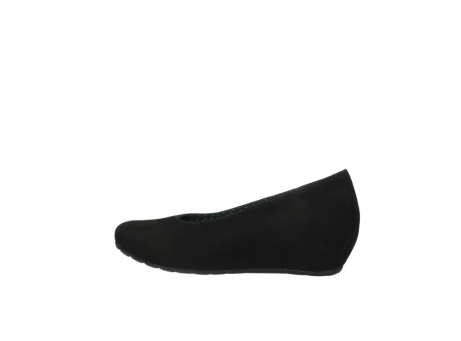wolky court shoes 01910 capella 40000 black suede_2