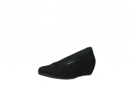 wolky court shoes 01910 capella 40000 black suede_22