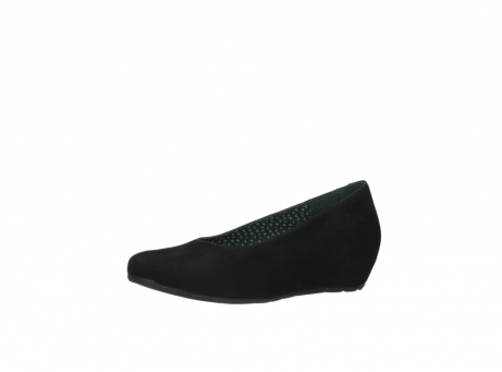 wolky court shoes 01910 capella 40000 black suede_23