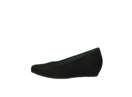 wolky court shoes 01910 capella 40000 black suede_24