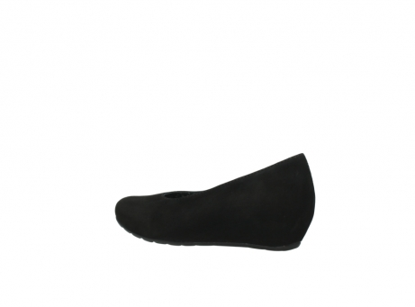 wolky court shoes 01910 capella 40000 black suede_3