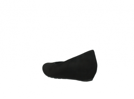 wolky court shoes 01910 capella 40000 black suede_4