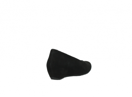 wolky court shoes 01910 capella 40000 black suede_9