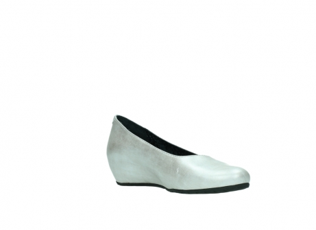 wolky court shoes 01910 capella 90190 pearl metallic leather_16