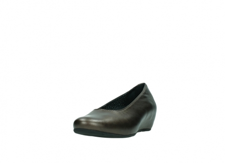 wolky pumps 01910 capella 90330 koper metallic leer_21