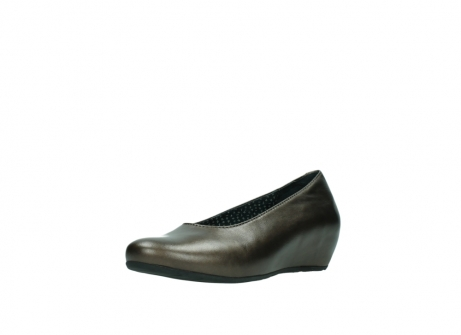 wolky pumps 01910 capella 90330 koper metallic leer_22