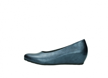 wolky court shoes 01910 capella 90800 blue metallic leather_1