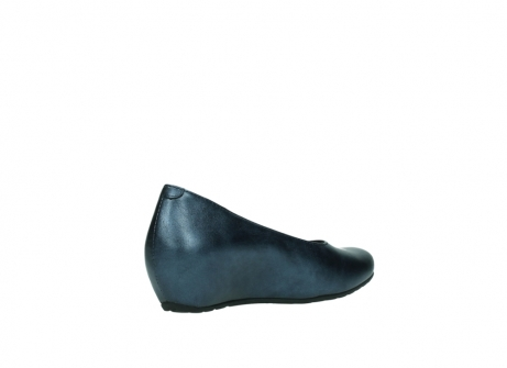 wolky court shoes 01910 capella 90800 blue metallic leather_10