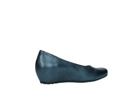 wolky court shoes 01910 capella 90800 blue metallic leather_11