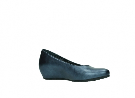 wolky court shoes 01910 capella 90800 blue metallic leather_15