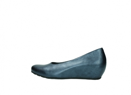 wolky court shoes 01910 capella 90800 blue metallic leather_2