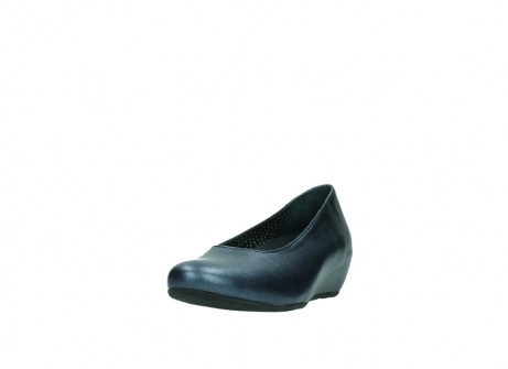 wolky court shoes 01910 capella 90800 blue metallic leather_21