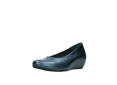 wolky court shoes 01910 capella 90800 blue metallic leather_22