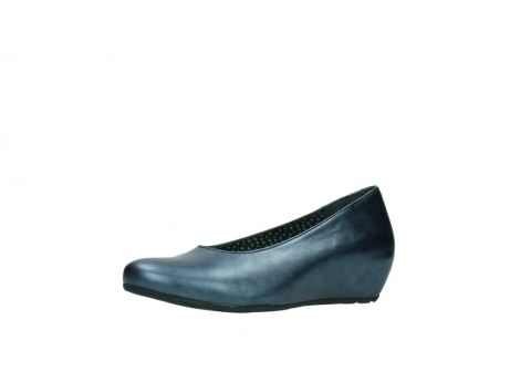 wolky court shoes 01910 capella 90800 blue metallic leather_23