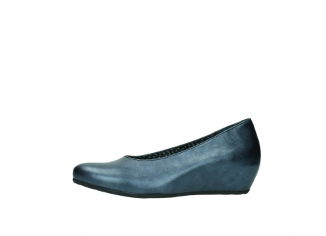 wolky court shoes 01910 capella 90800 blue metallic leather_24
