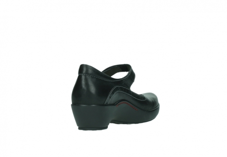 wolky court shoes 03450 sud 50000 black leather_9