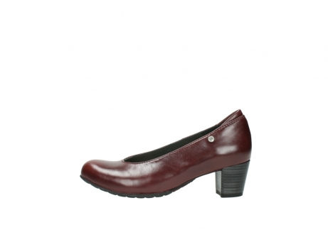 wolky pumps 03753 rumba 30510 bordeaux leer_1