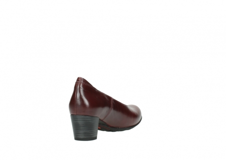 wolky pumps 03753 rumba 30510 bordeaux leer_9