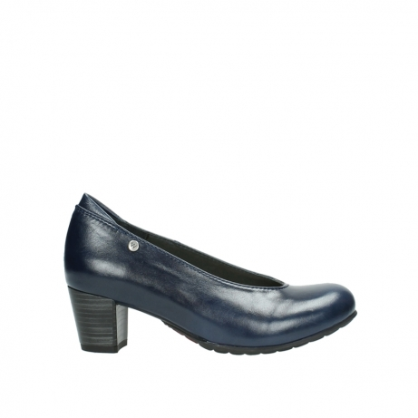 wolky court shoes 03753 rumba 30800 dark blue leather