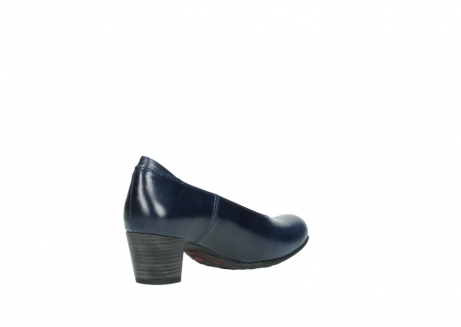 wolky court shoes 03753 rumba 30800 dark blue leather_10
