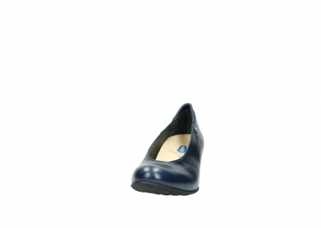 wolky court shoes 03753 rumba 30800 dark blue leather_20