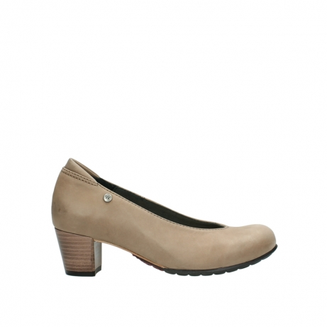 wolky pumps 03753 rumba 80150 taupe leder
