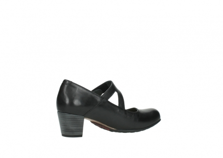 wolky court shoes 03754 conga 20000 black leather_11