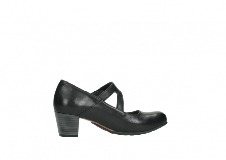 wolky court shoes 03754 conga 20000 black leather_12