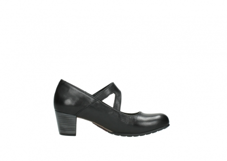 wolky court shoes 03754 conga 20000 black leather_13