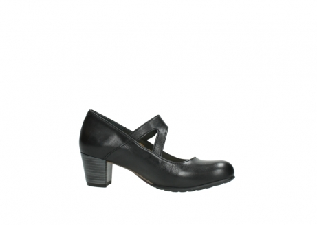wolky court shoes 03754 conga 20000 black leather_14