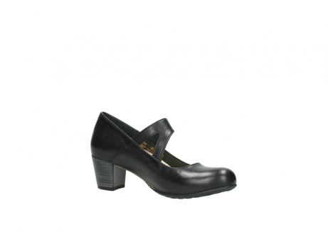 wolky court shoes 03754 conga 20000 black leather_15