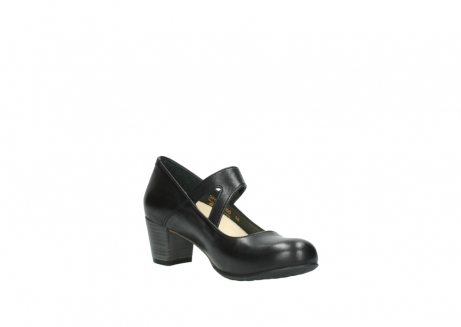 wolky court shoes 03754 conga 20000 black leather_16