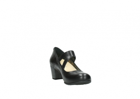 wolky court shoes 03754 conga 20000 black leather_17