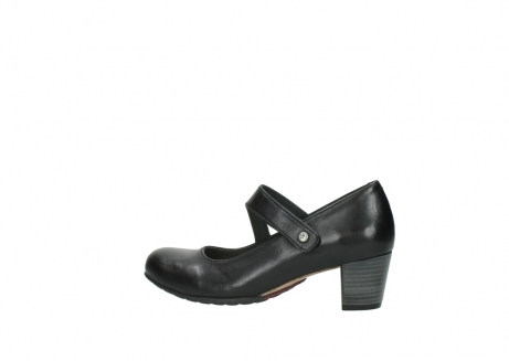 wolky court shoes 03754 conga 20000 black leather_2