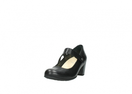 wolky court shoes 03754 conga 20000 black leather_21