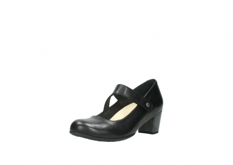 wolky court shoes 03754 conga 20000 black leather_22