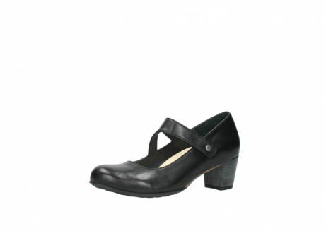 wolky court shoes 03754 conga 20000 black leather_23