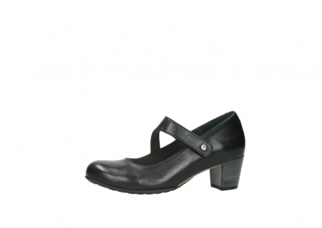 wolky court shoes 03754 conga 20000 black leather_24