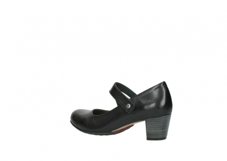 wolky court shoes 03754 conga 20000 black leather_3