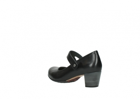 wolky court shoes 03754 conga 20000 black leather_4