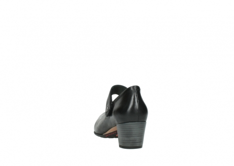 wolky court shoes 03754 conga 20000 black leather_6