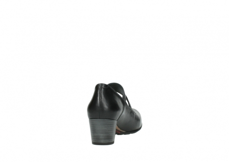 wolky court shoes 03754 conga 20000 black leather_8