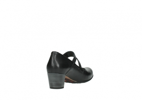 wolky court shoes 03754 conga 20000 black leather_9