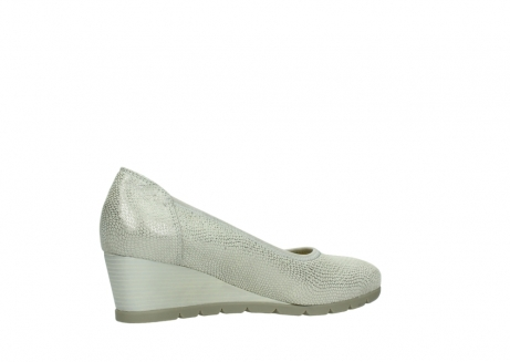 wolky court shoes 04665 ocean 20120 off white silver printed leather_11