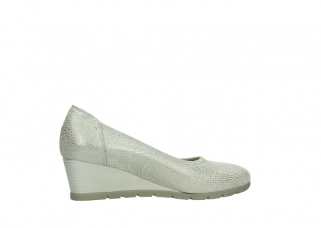 wolky court shoes 04665 ocean 20120 off white silver printed leather_12