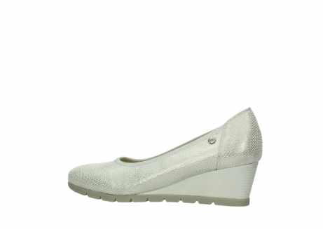 wolky court shoes 04665 ocean 20120 off white silver printed leather_2